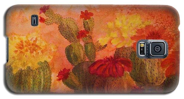 Cactus Garden Galaxy S5 Case