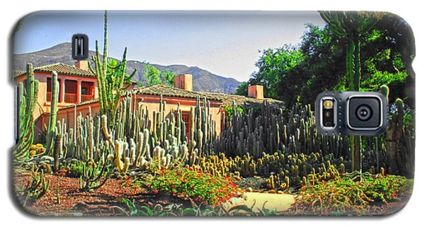 Galaxy S5 Case featuring the photograph Cactus House by Joseph Hollingsworth