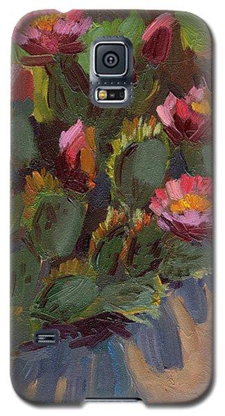 Cactus In Bloom 2 Galaxy S5 Case