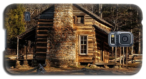 Cades Cove Oliver's Cabin Galaxy S5 Case by Greg and Chrystal Mimbs