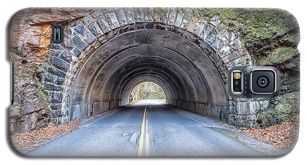 Cades Cove Road Tunnel Galaxy S5 Case