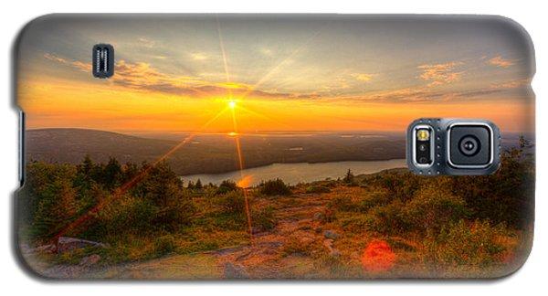 Cadillac Mountain Sunset Acadia National Park Bar Harbor Maine Galaxy S5 Case