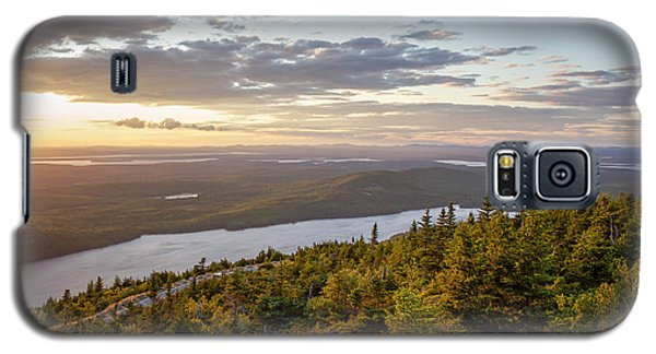 Galaxy S5 Case featuring the photograph Cadillac Mountain Sunset  by Trace Kittrell