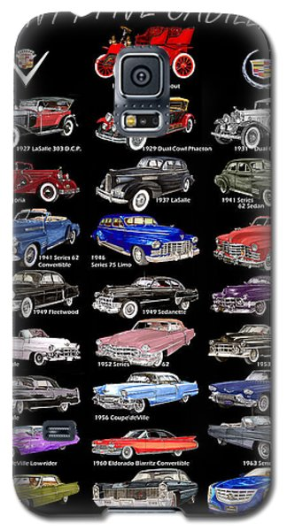 25 Cadillacs In A Poster  Galaxy S5 Case