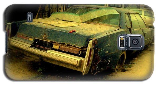 Galaxy S5 Case featuring the photograph Cadillac Wreck by Salman Ravish