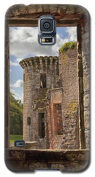 Caerlaverock Castle Galaxy S5 Case by Eunice Gibb