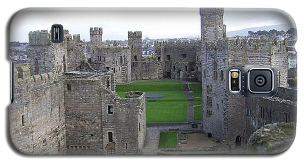Caernarfon Castle Galaxy S5 Case by Christopher Rowlands