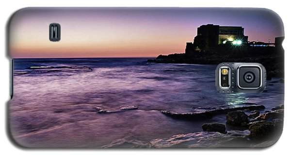 Galaxy S5 Case featuring the photograph Caesarea  by Meir Ezrachi