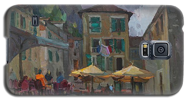 Cafe In Old City Galaxy S5 Case