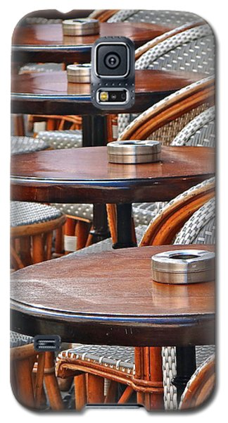 Cafe Janine Galaxy S5 Case by Ira Shander
