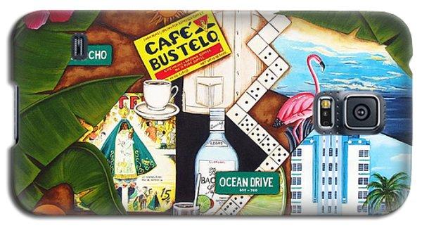 Cafe Miami Galaxy S5 Case by Joseph Sonday