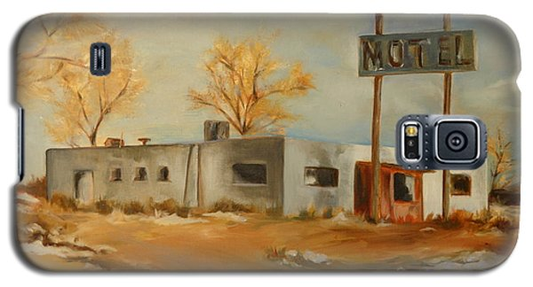 Cafe Motel Galaxy S5 Case by Lindsay Frost
