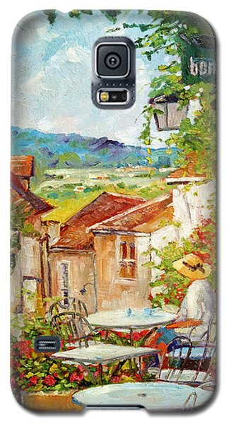 Cafe Provence Morning Galaxy S5 Case