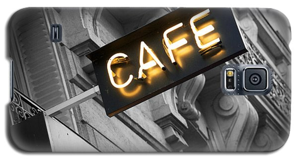 Cafe Sign Galaxy S5 Case