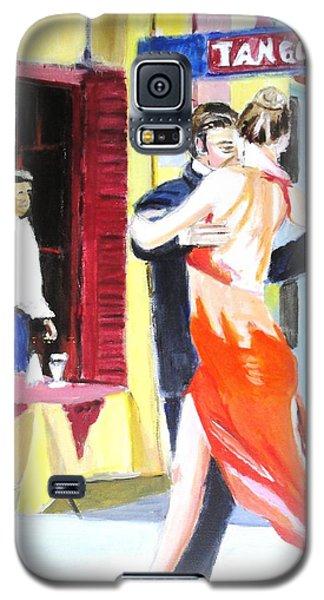Cafe Tango Galaxy S5 Case by Judy Kay