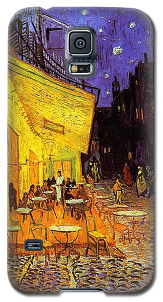 Cafe Terrace At Night Galaxy S5 Case