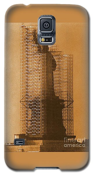 New York Lady Liberty Statue Of Liberty Caged Freedom Galaxy S5 Case