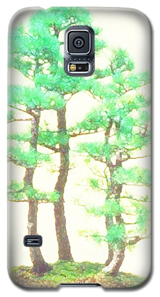 Caitlin Elm Bonsai Tree Galaxy S5 Case by Marian Cates