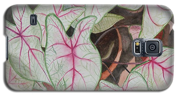 Caladiums Galaxy S5 Case