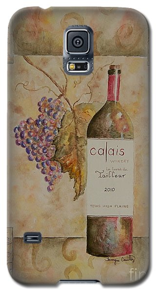 Galaxy S5 Case featuring the painting Calais Vineyard by Tamyra Crossley