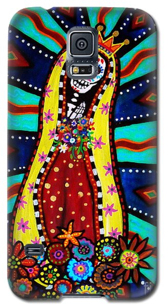 Calavera Virgen Galaxy S5 Case by Pristine Cartera Turkus