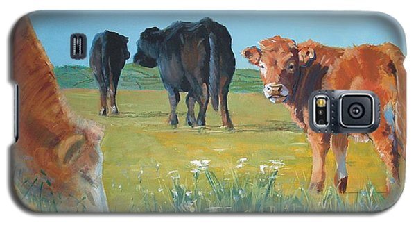Calf Painting Galaxy S5 Case