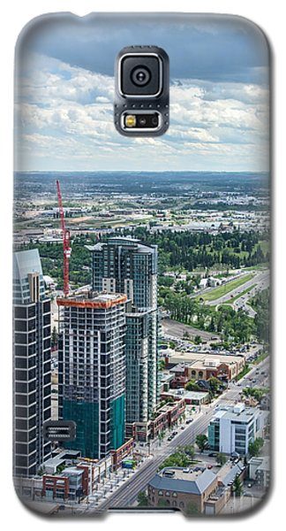 Calgary Skyscrapers Seen From The Calgary Tower Galaxy S5 Case