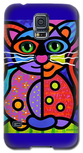 Calico Cat Galaxy S5 Case