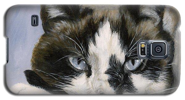 Calico Cat With Attitude Galaxy S5 Case