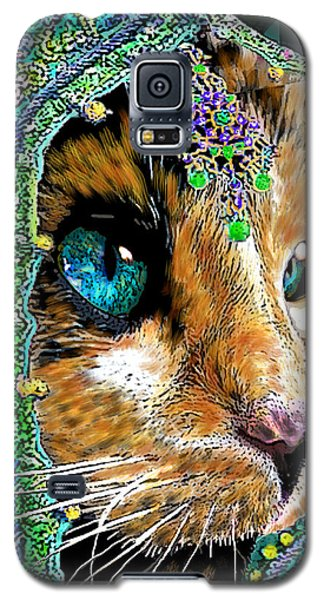 Calico Indian Bride Cats In Hats Galaxy S5 Case by Michele Avanti