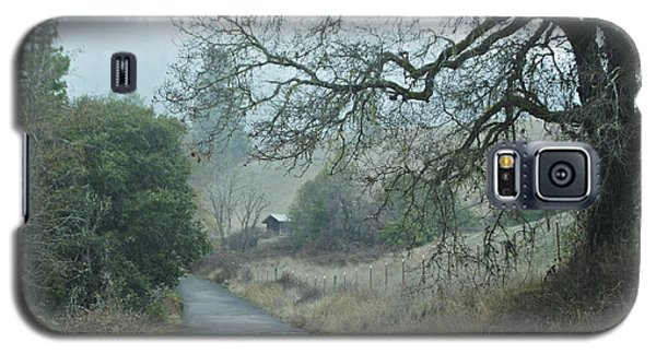 California Back Country Road Galaxy S5 Case by Judy  Johnson