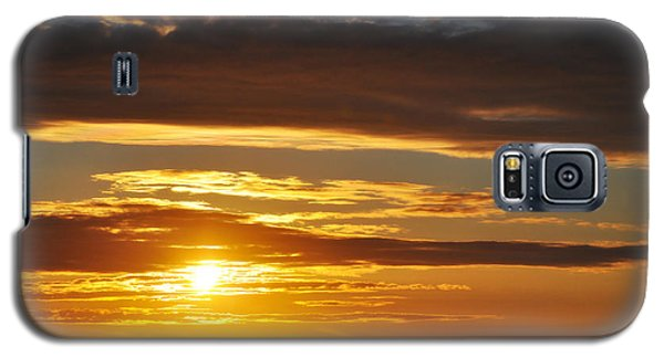 Galaxy S5 Case featuring the photograph California Central Coast Sunset by Kyle Hanson