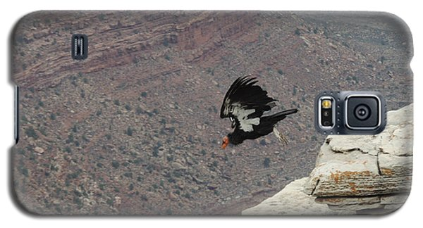 California Condor Taking Flight Galaxy S5 Case by Jayne Wilson