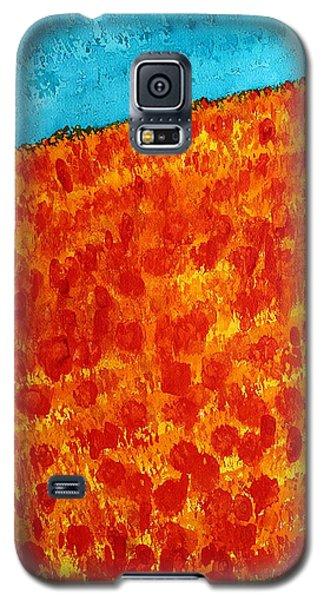 California Poppies Original Painting Galaxy S5 Case