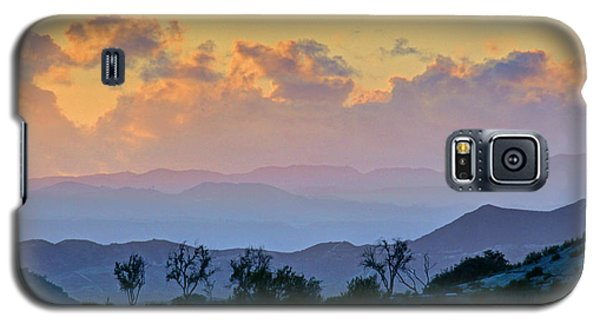 Galaxy S5 Case featuring the photograph California Sunset by Martin Konopacki