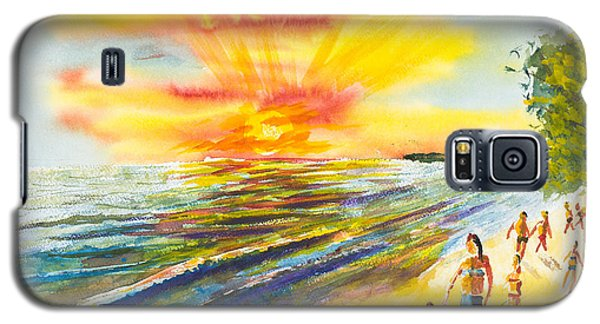 California Sunset Galaxy S5 Case