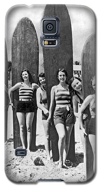 California Surfer Girls Galaxy S5 Case