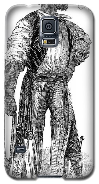 Galaxy S5 Case featuring the painting California Vaquero, 1852 by Granger