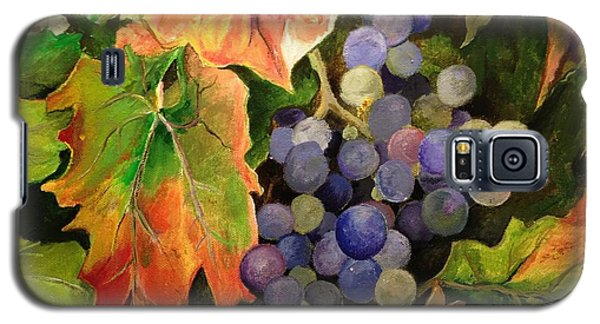 Galaxy S5 Case featuring the painting California Vineyards by Alan Lakin