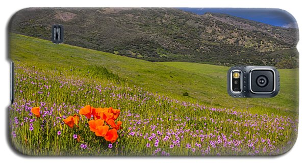 California Wildflowers Galaxy S5 Case