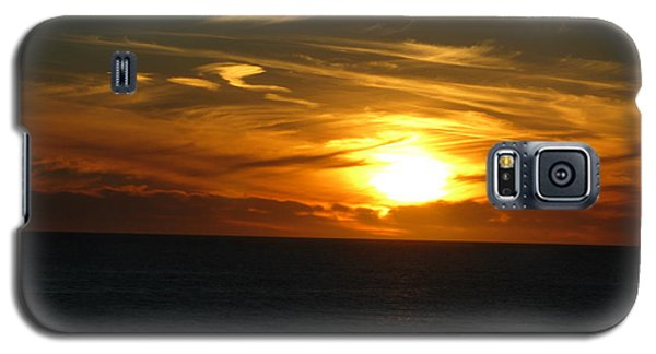 California Winter Sunset Galaxy S5 Case