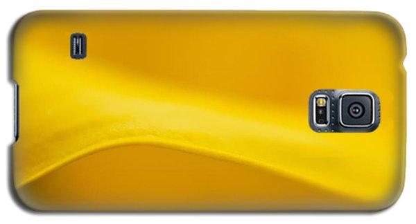 Calla Curve Galaxy S5 Case by Joan Herwig
