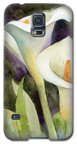 Lily Galaxy S5 Case - Calla Lilies by Amy Kirkpatrick