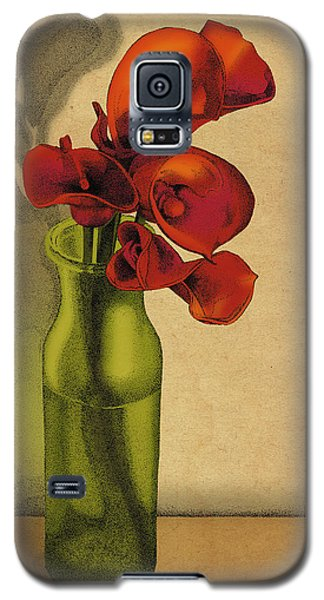 Calla Lilies In Bloom Galaxy S5 Case by Meg Shearer