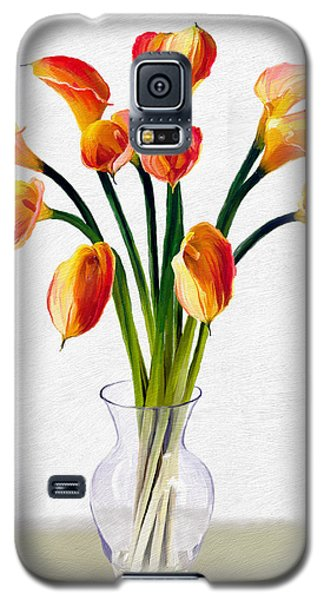 Calla Lillies Galaxy S5 Case by James Shepherd