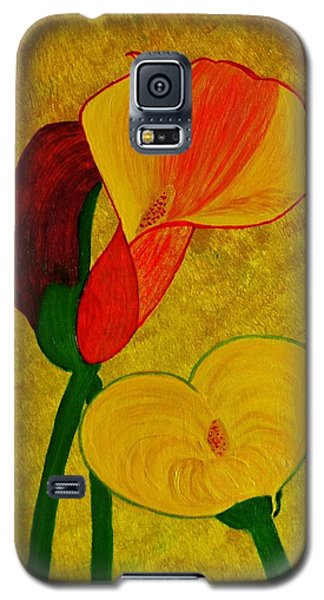 Calla Lilly Galaxy S5 Case by Celeste Manning