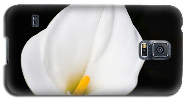 Calla Lily Flower Face Galaxy S5 Case
