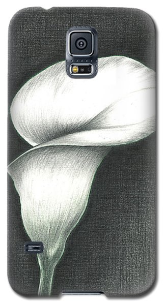 Calla Lily Galaxy S5 Case by Troy Levesque