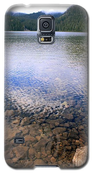 Galaxy S5 Case featuring the photograph Callaghan Lake Stones by Amanda Holmes Tzafrir