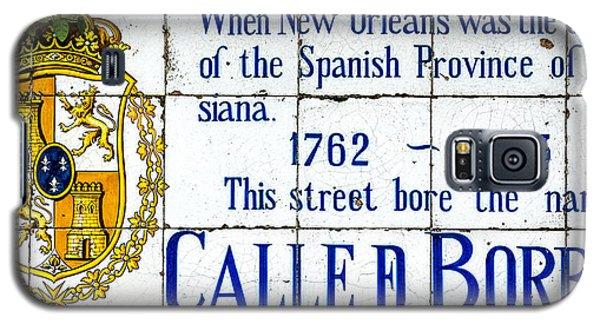 Calle D Borbon Galaxy S5 Case